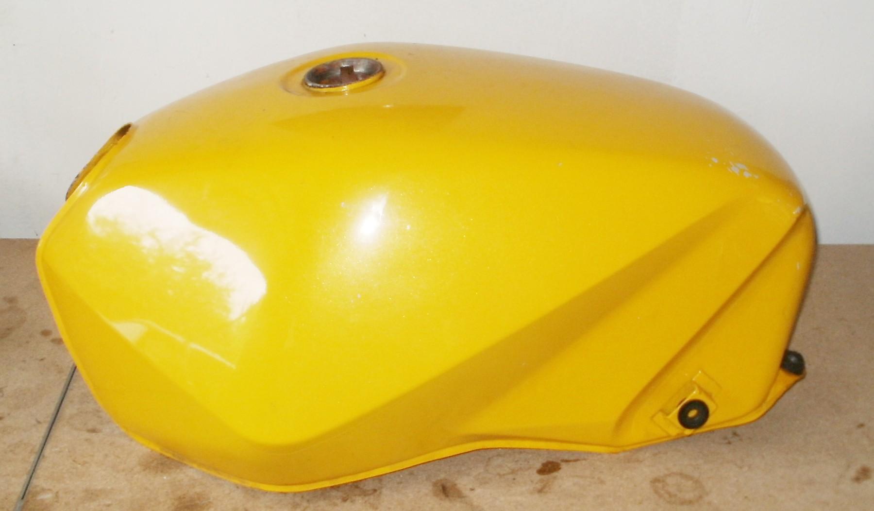Suzuki GS 550 M KatanaTank, gelb
