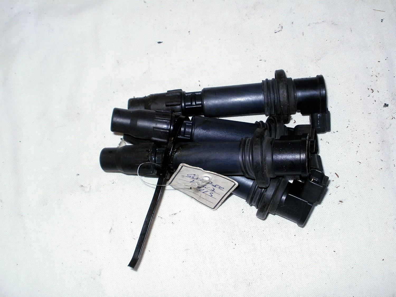 Satz Suzuki GSX R 750 K6 K7 Zündspulen Kerzenstecker