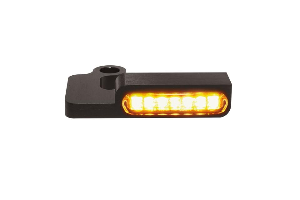 LED Armaturen Blinker SPORTSTER Modelle -13, schwarz