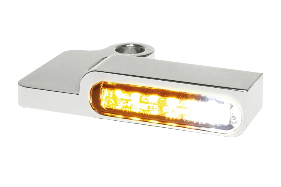 LED Armaturen Blinker-Positionslicht-Kombination SPORTSTER Modelle -13, silber