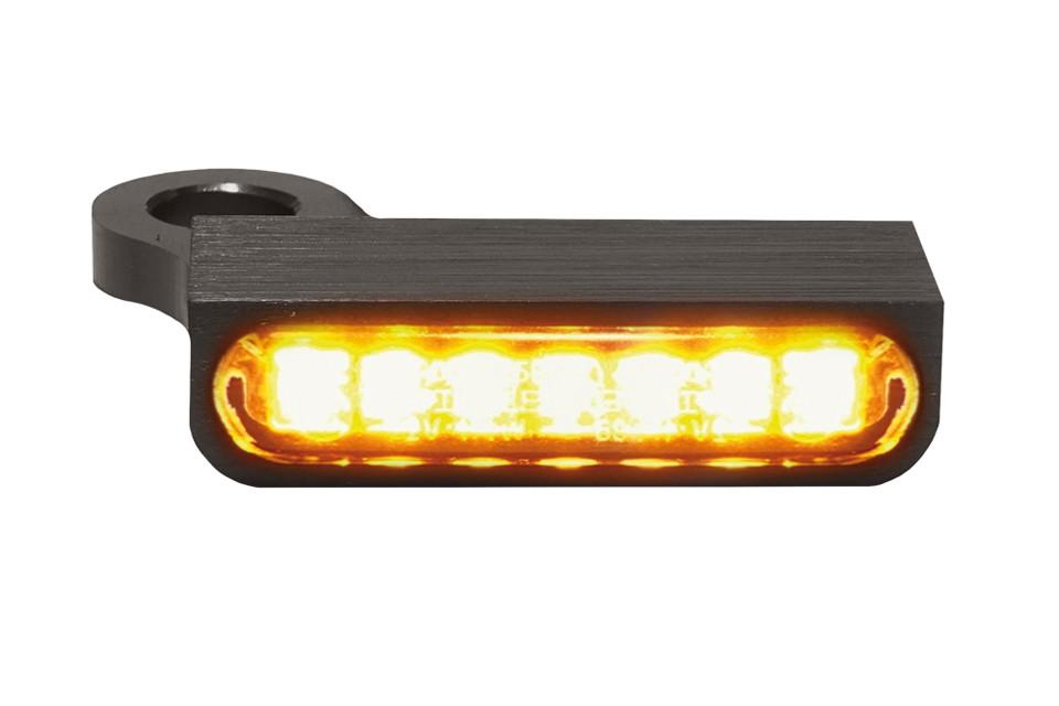 LED Armaturen Blinker SPORTSTER Modelle 14-, schwarz