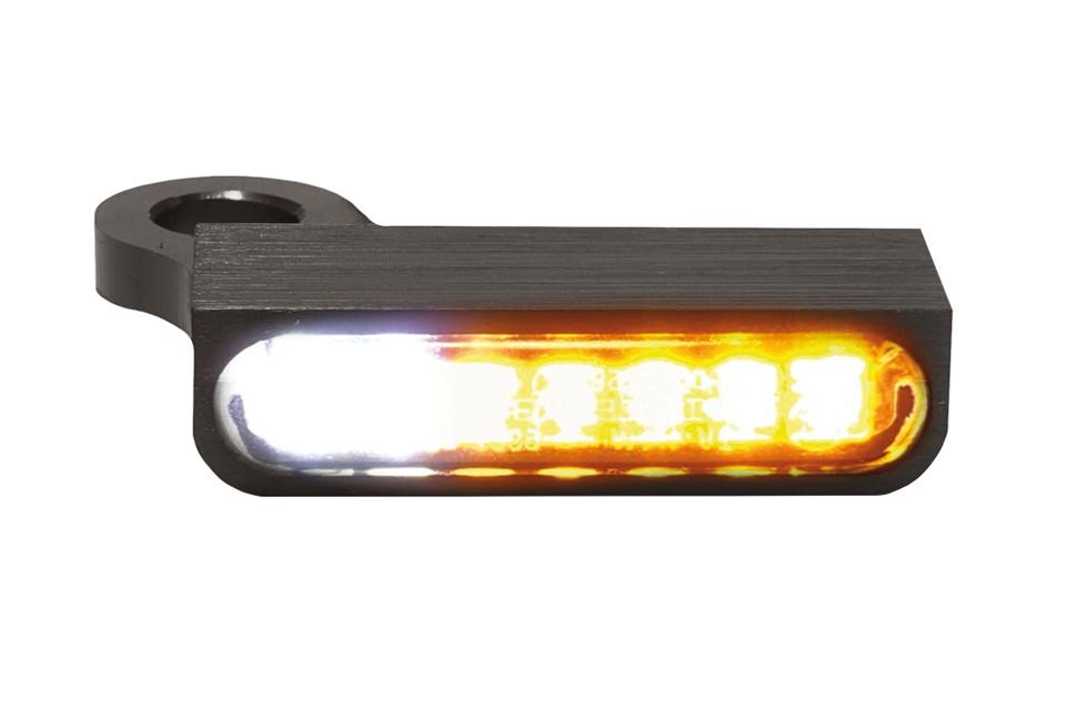 LED Armaturen Blinker-Positionslicht-Kombination SPORTSTER Modelle 14-, schwarz