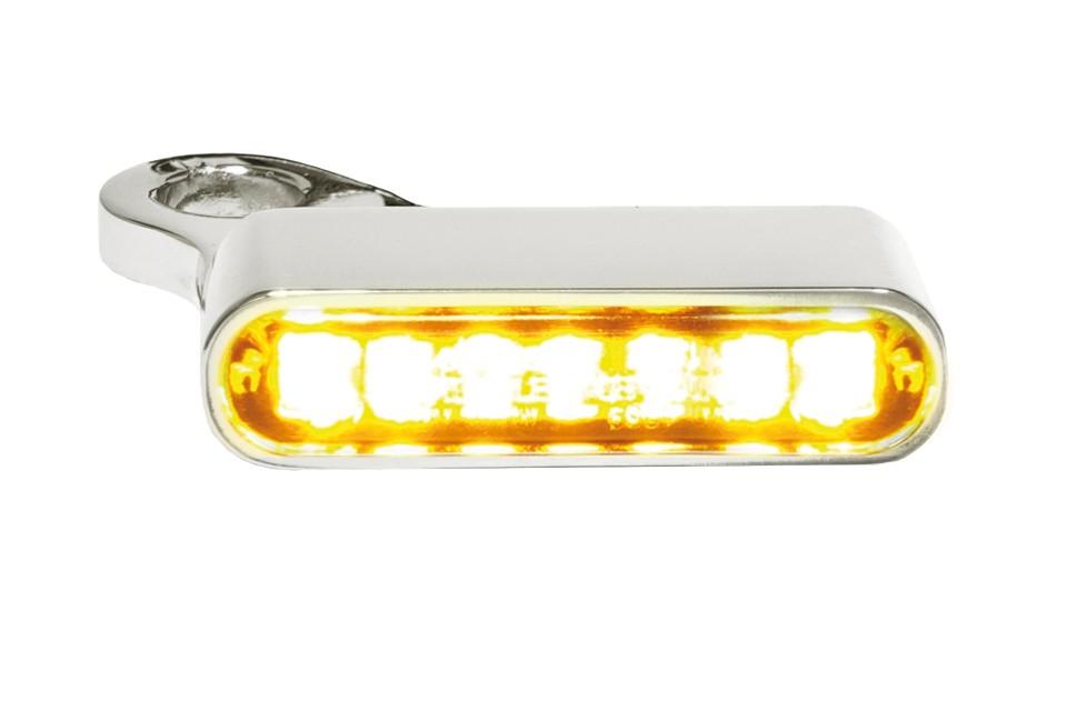 LED Armaturen Blinker SPORTSTER Modelle 14-, silber