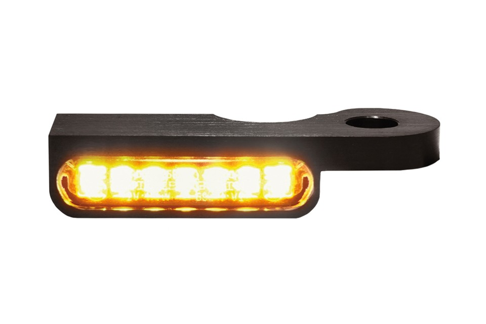LED Armaturen Blinker DYNA Modelle 96-, schwarz