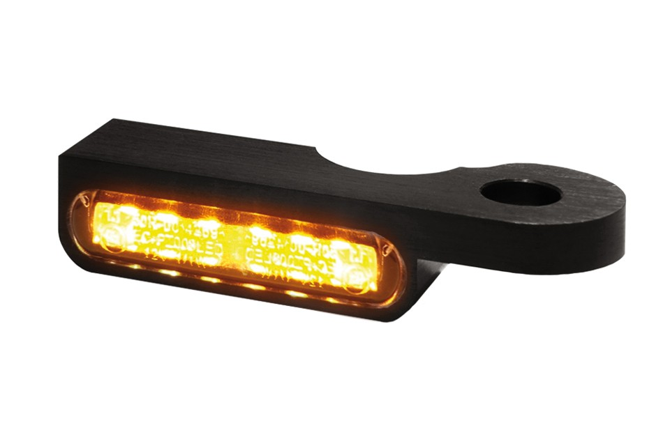 LED Armaturen Blinker SOFTAIL Modelle -14, schwarz