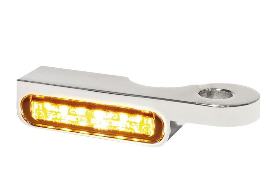 LED Armaturen Blinker SOFTAIL Modelle -14, silber