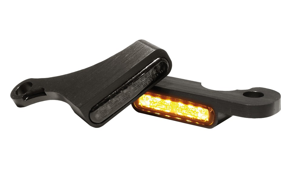 LED Armaturen Blinker SOFTAIL Modelle 15-, schwarz