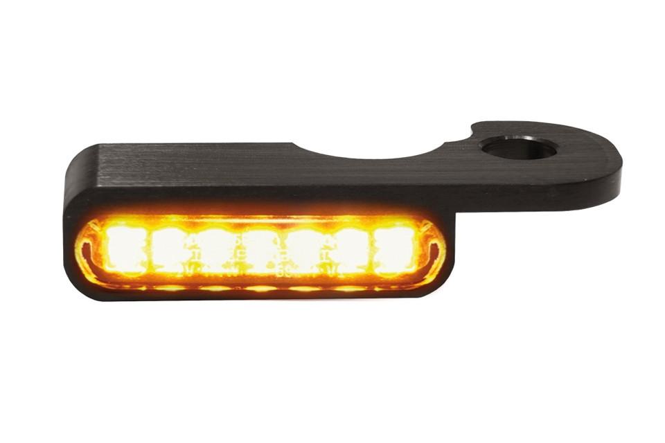 LED Armaturen Blinker BREAKOUT Modelle hydr.Kupplung, schwarz