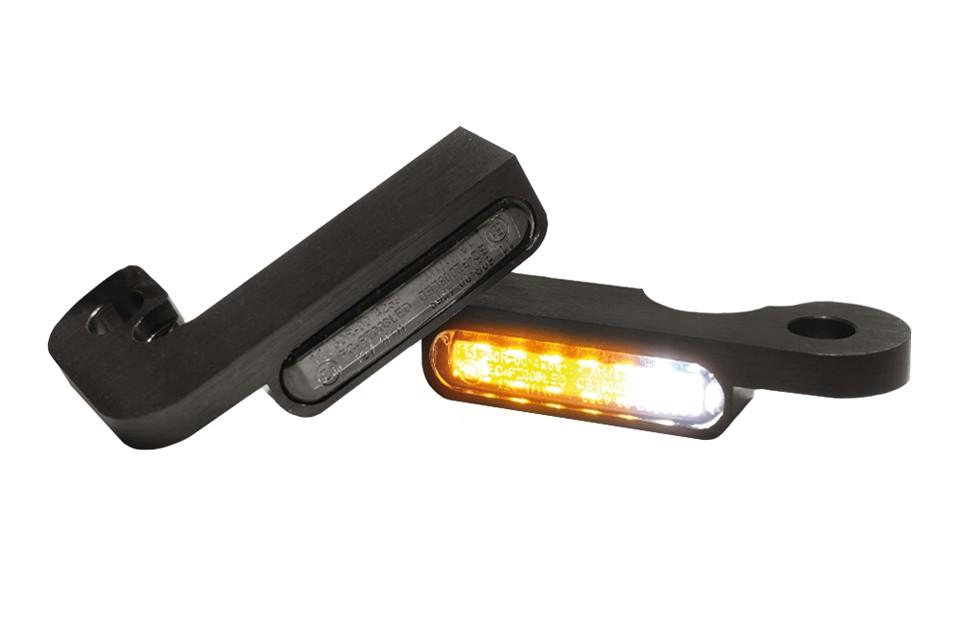 LED Armaturen Blinker-Positionslicht-Kombination TOURING Modelle -08, schwarz