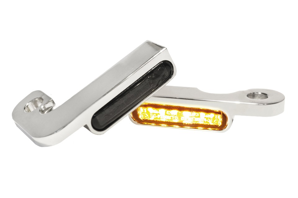 LED Armaturen Blinker TOURING Modelle -08, silber