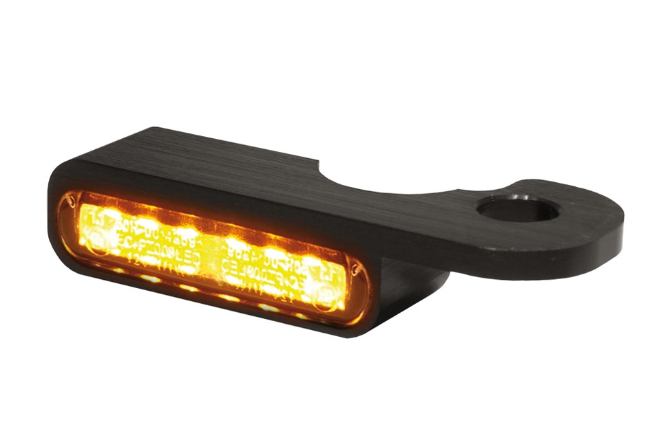 LED Armaturen Blinker NIGHT- V-ROD Modelle 02-, schwarz