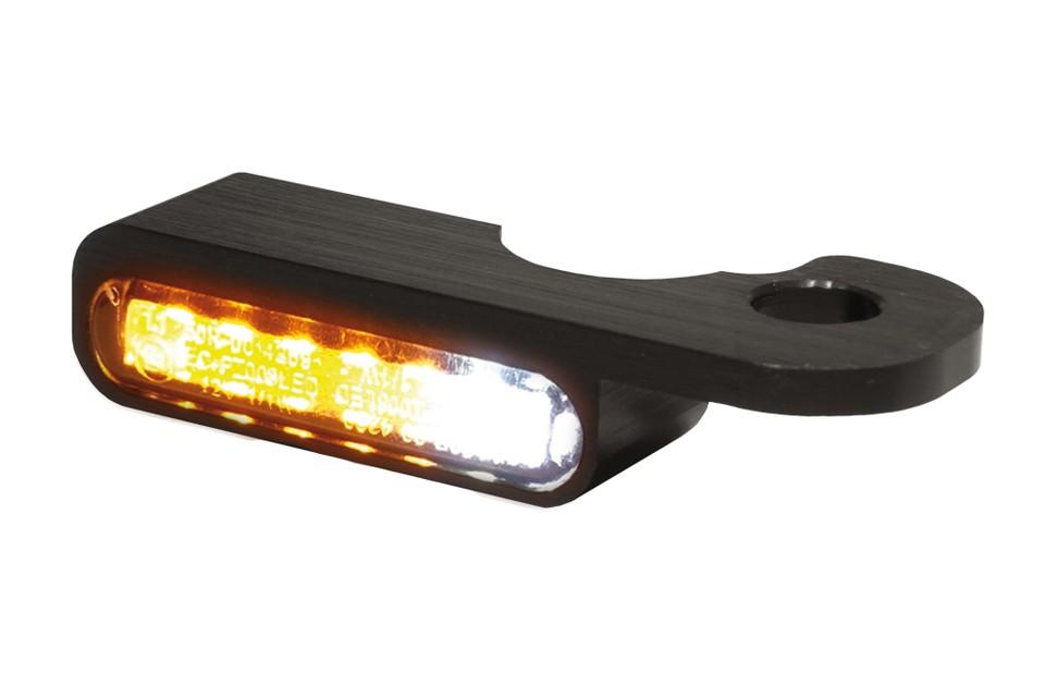 LED Armaturen Blinker-Positionslicht-Kombination NIGHT- V-ROD Modelle 02-, schwarz