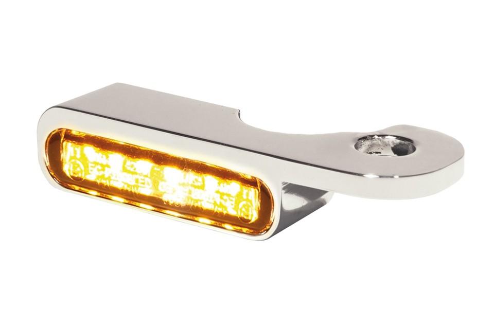LED Armaturen Blinker NIGHT- V-ROD Modelle 02-, silber