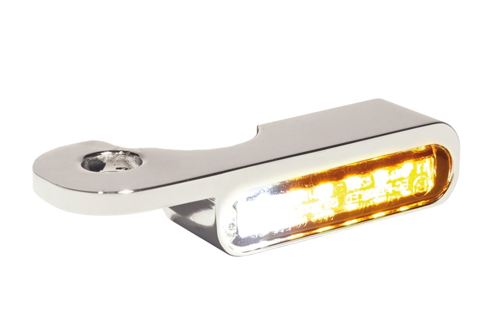LED Armaturen Blinker-Positionslicht-Kombination S Modelle 14-, silber