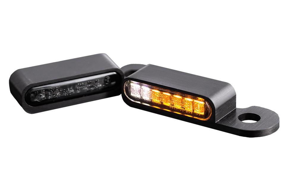 LED Armaturen Blinker-Positionslicht-Kombination CVO Modelle 02-, schwarz