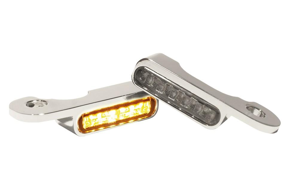 LED Armaturen Blinker CVO Modelle 02-, silber