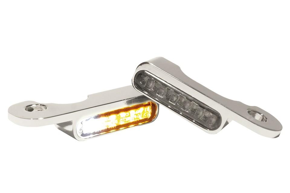 LED Armaturen Blinker-Positionslicht-Kombination CVO Modelle 02-, silber