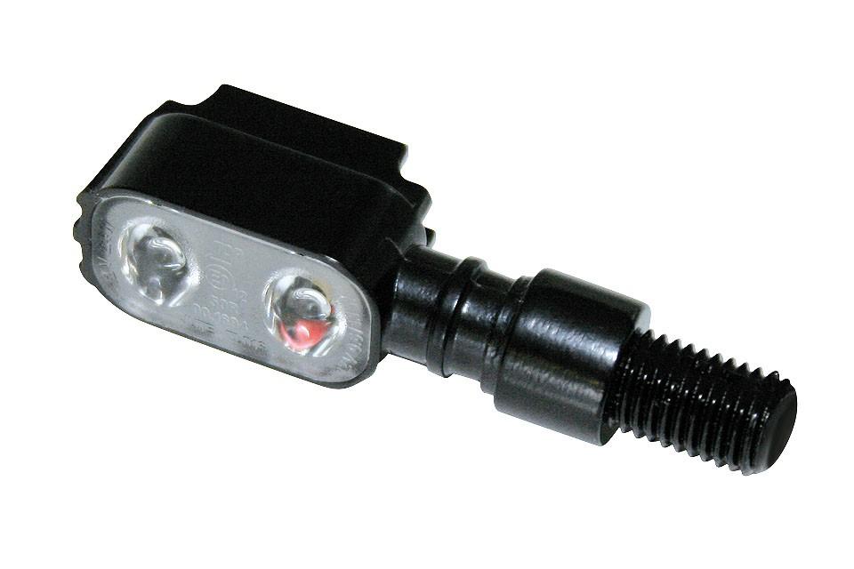 SHIN YO LED Blinker MX-1, schwarzes Metallgehäuse