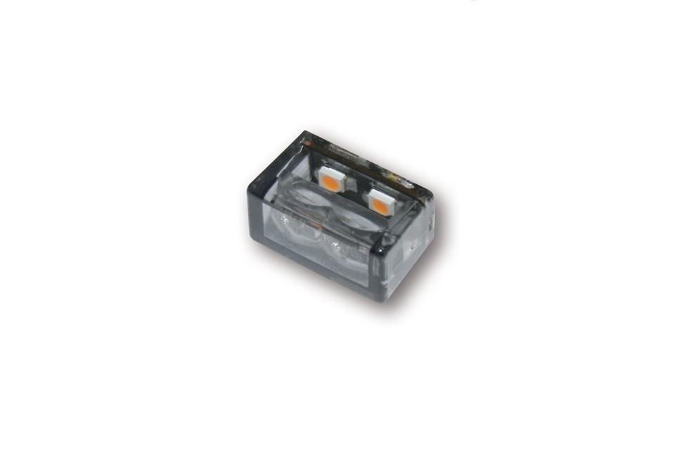 SHIN YO LED-Blinker MICRO CUBE-H mit 2 SMDs, zum Einbau.