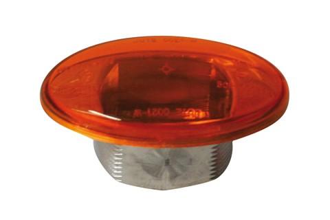 Blinkerglas für Mini-Verkleidungsblinker 203-410, gelb