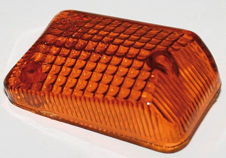 Ersatzglas für Mini-Blinker 203-851 bis 203-885, getönt