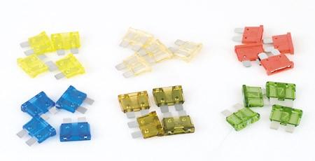 Stecksicherung gelb, 20 A, 10er Pack