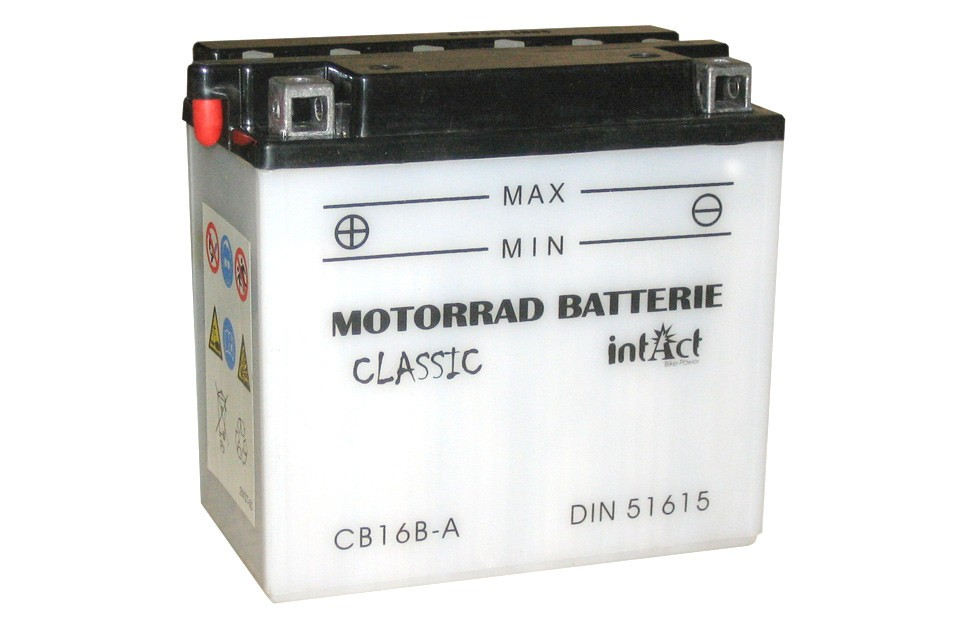 Intact Bike Power Batterie CB 16B-A mit Säurepack