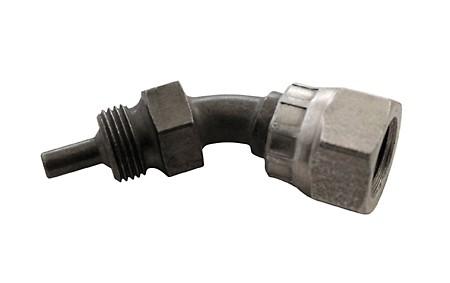 Innengewinde, beweglich, Typ BSP (1/8 Zoll), 45 Grad, für Stahlflexbremsleitung