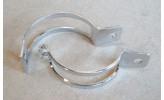 Blinkerschelle, zweiteilg, verchromt Rohrbefestigung 31-34mm