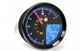 KOSO Drehzahlmesser/Tachometer YAMAHA XV950/Bolt/YAMAHA SCR950 mit schwarzem Ring