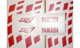 Felgenbettaufkleber Yamaha YZF R1 rot