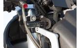 LSL Instrumentenplatte für Motoscope Tiny Tacho, schwarz eloxiert