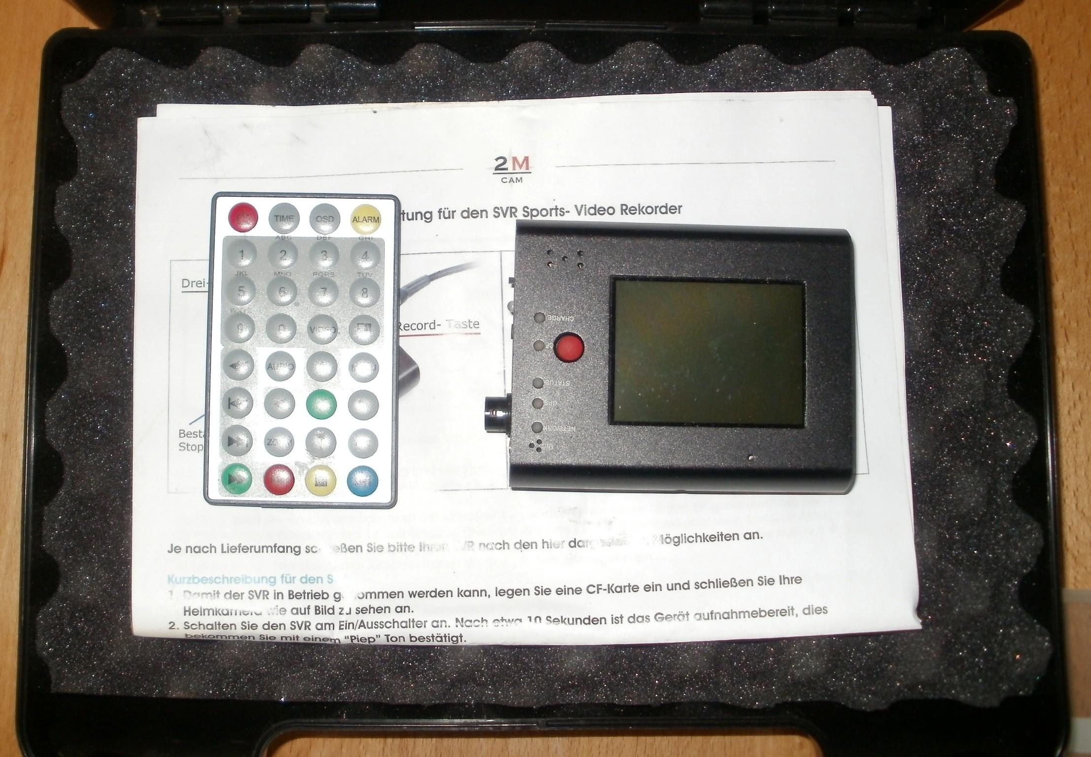 2M-CAM 59 SHQ mit SVR3 Recorder