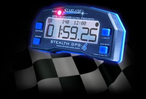"TWIN-GPS Laptimer, STEALTH 4 ""LITE"""