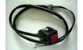 Schalter eckig (Typ Taster) für Engine Stop, Hupe