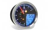 KOSO Drehzahlmesser/Tachometer YAMAHA XV950/Bolt/YAMAHA SCR950 mit Chromring