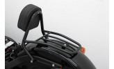 FEHLING Fahrer Sissy Bar schwarz, HD Softail Blackline FXS 2011-, Softail Slim FLS 2012-