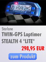 Starlane Twin GPS Laptimer